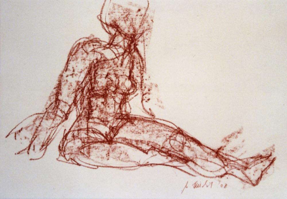 Akt, sitzend (179)