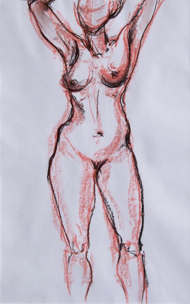 Stehende Frau (171)